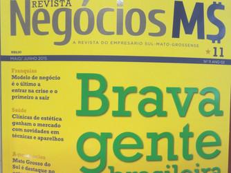 Empresa Nexsolar na revista Negócios MS