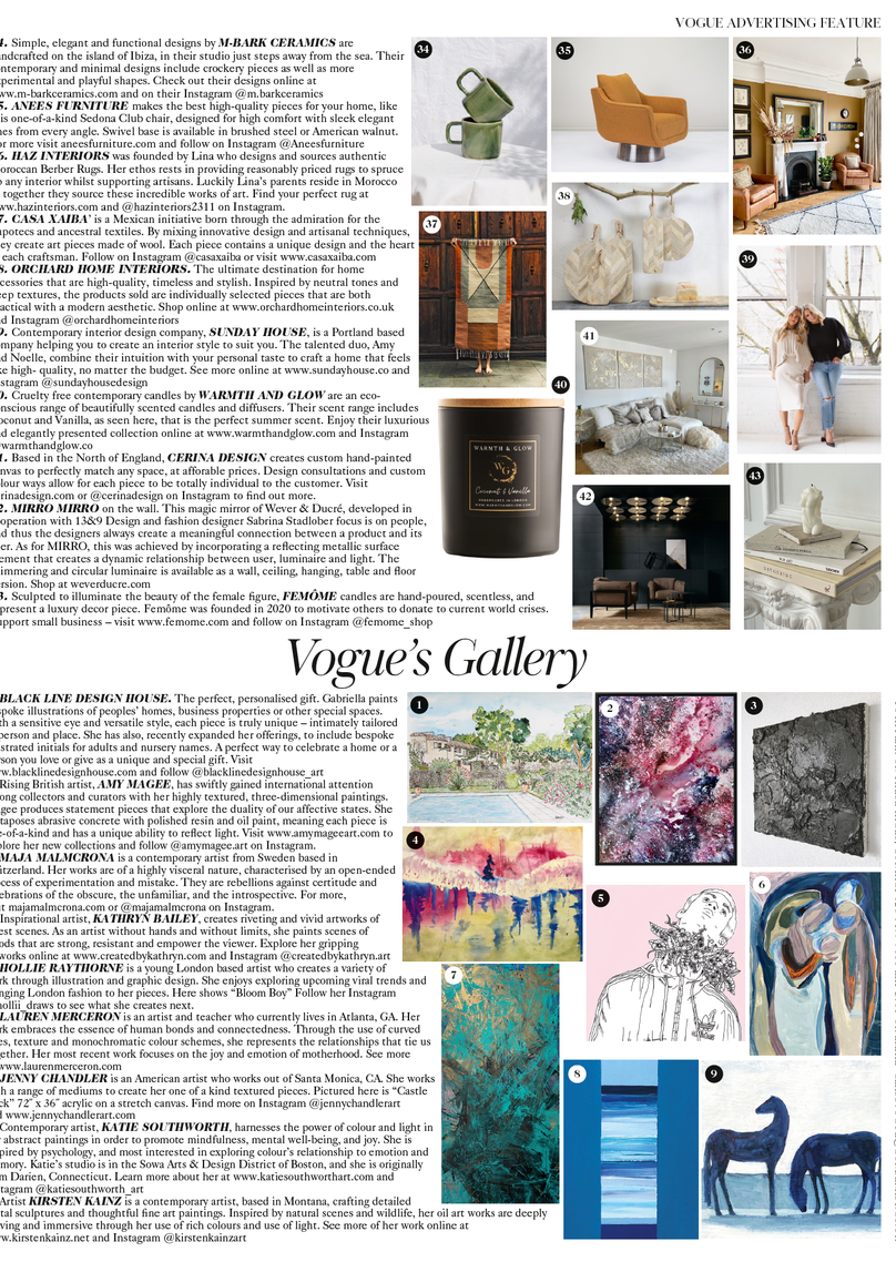 VOGUE Gallery