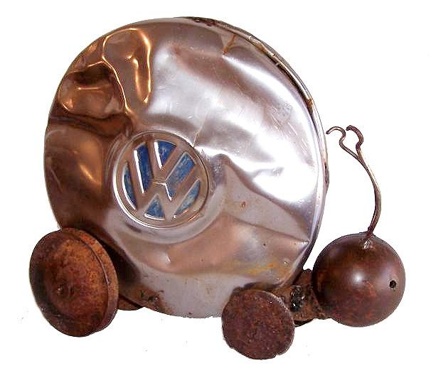 porsche_(snail)_found_metal_13_x_11_x_5_