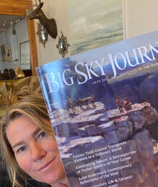 Big Sky Journal Art Edition