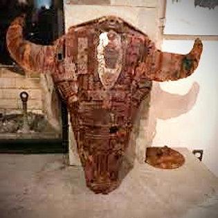 Bison Skull Custom Built