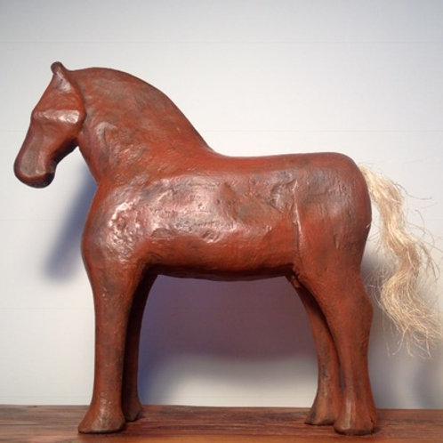 RED BRONZE HORSE