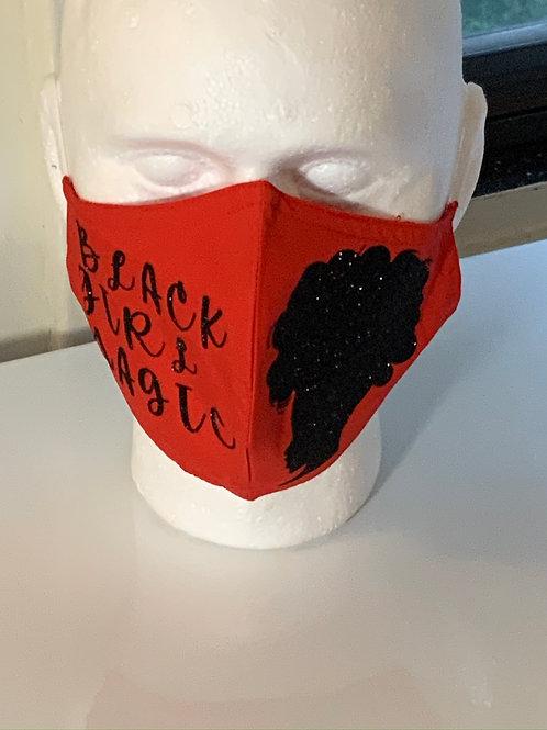 Black Lives Matter(Afro) Mask