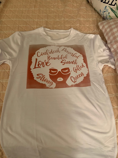 Letter(Afro Beauty) Tee