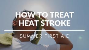 How To Treat Heat Stroke?