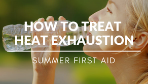 Summer First Aid - How To Treat Heat Exhaustion