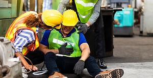 First Aid. Engineering supervisor talkin