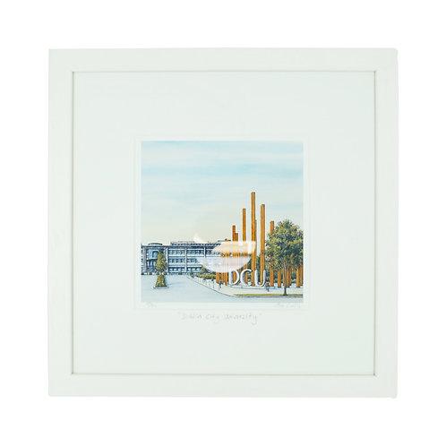 Jim Scully DCU 12x12 framed print