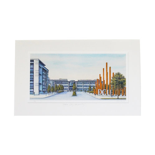 Jim Scully DCU mounted 20x12 print