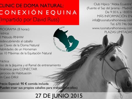 """CLINIC DE DOMA NATURAL """"La Conexión Equina"""""""