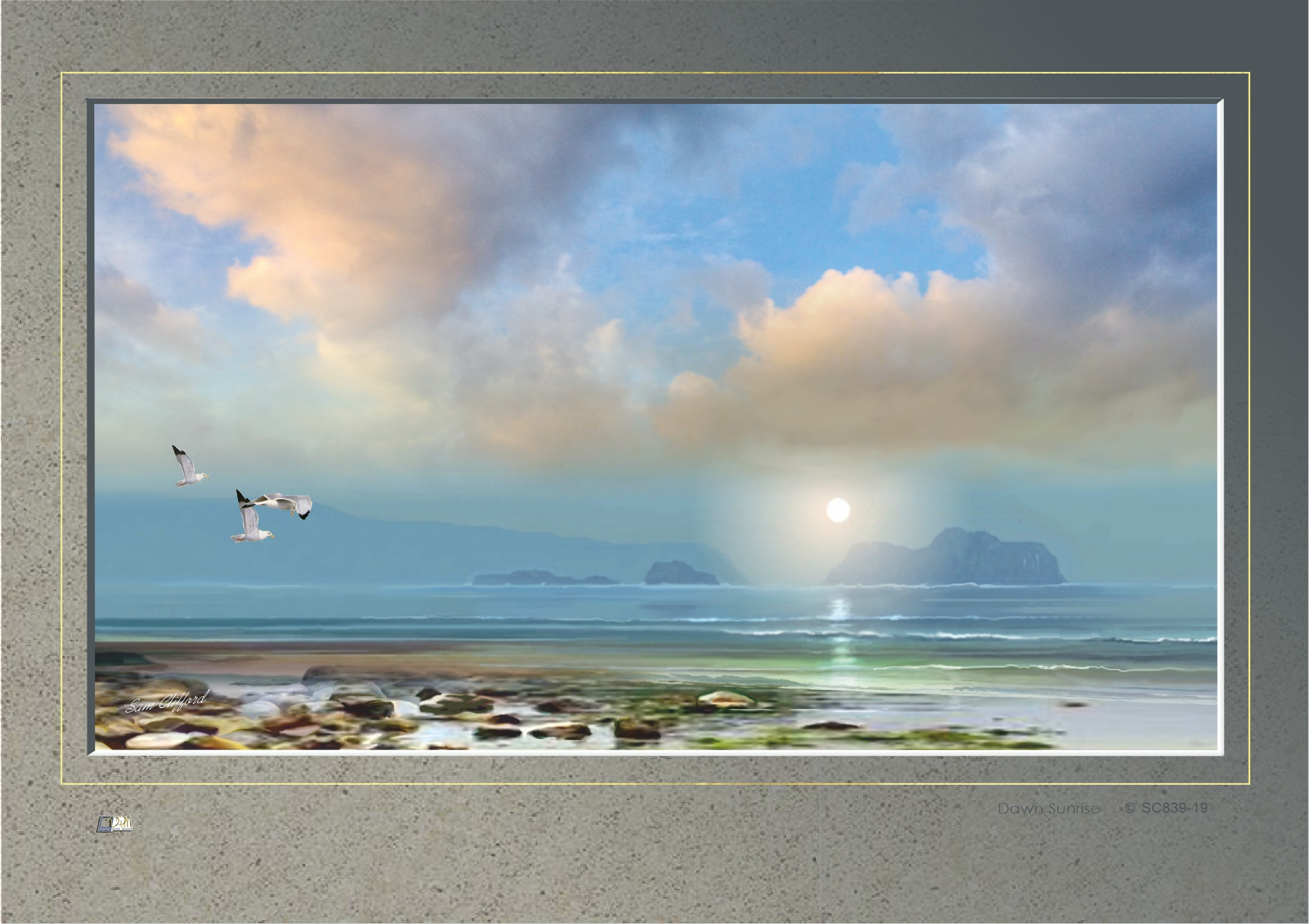Dawn Sunrise code: SC839-19