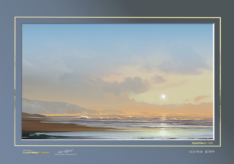Peaceful Sunset code: SC217B-08