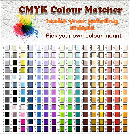 CMYK Colour Matcher