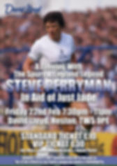 An Evening with England and Spurs Legend Steve Perryman