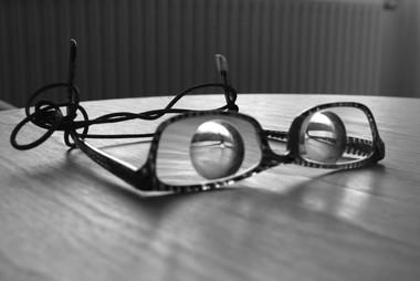 Las gafas de Ana. Miope magna.
