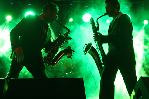 Dani Nel y Lo & Los Saxofonistas Salvajes. Festival Blues Museum 2018. Festival Internacional de Blues de Lugo