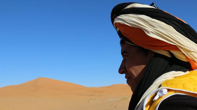 Mohamed. Berber. Sahara Desert