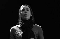 Carine Séchaye dans la voix humaine.