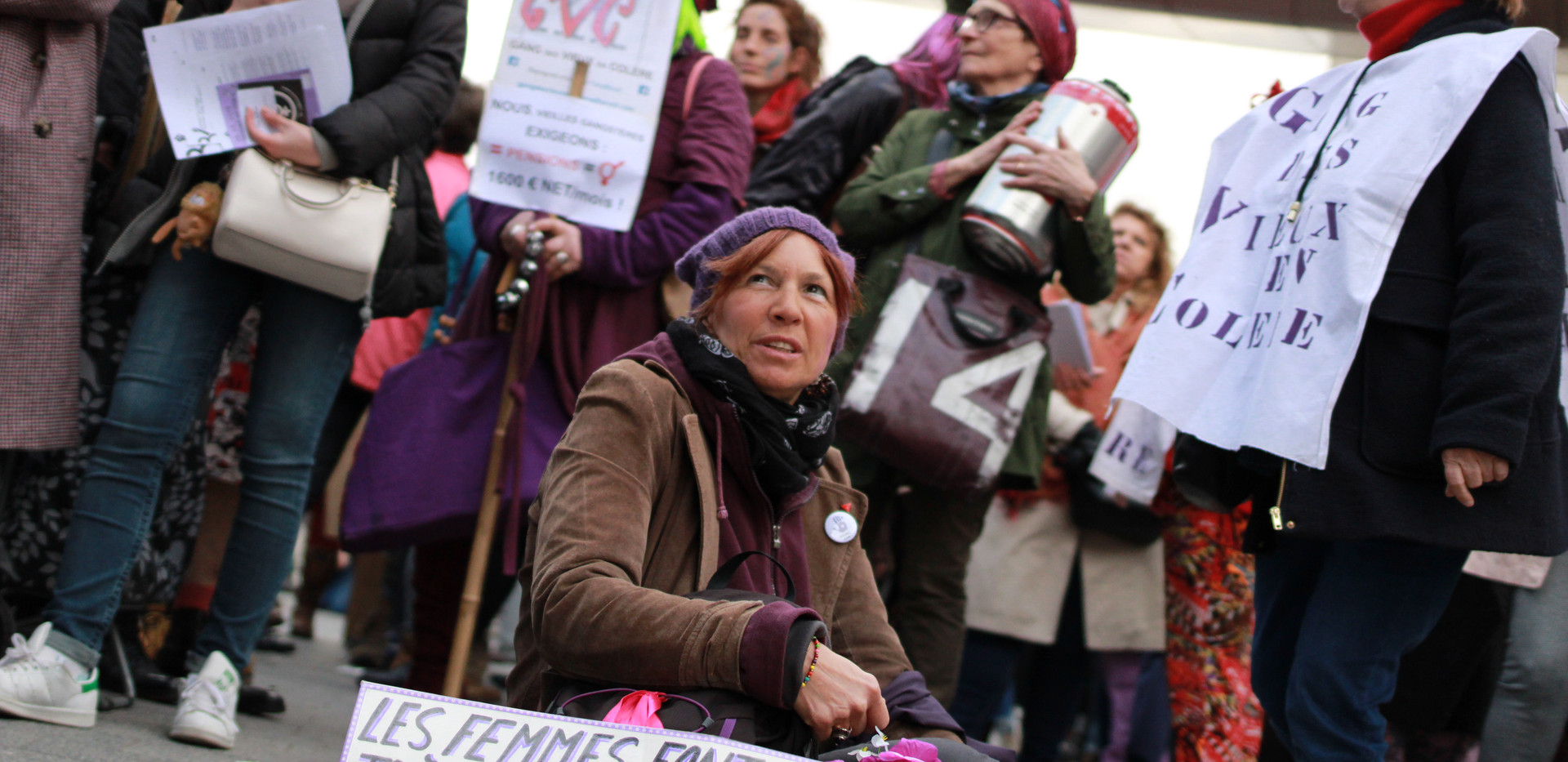 8M International Women's Day in Brussels