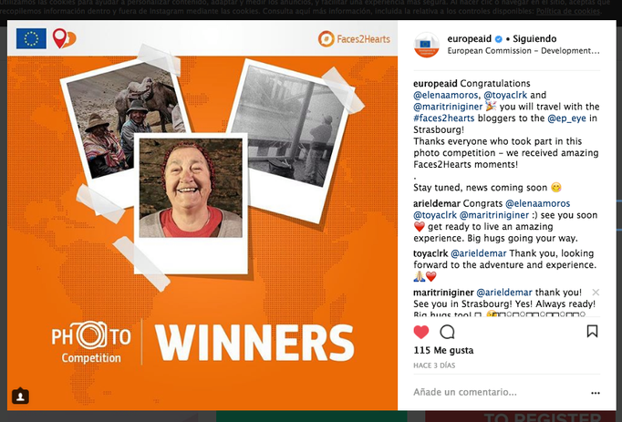 Winners Photo Competition EuropeAID