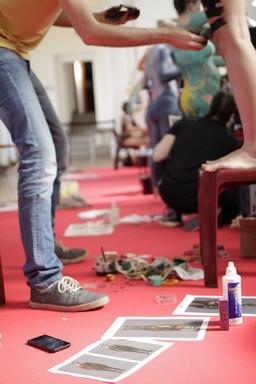 Bodypainting. 37th BIFFF, Brussels International Fantastic Film Festival