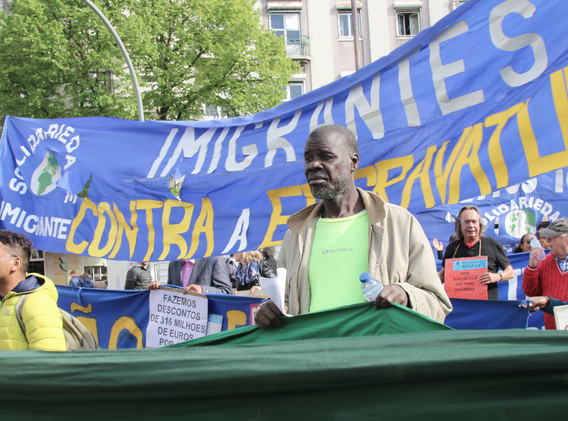 1st May 2018 Workers Day in Lisbon by Mari Trini Giner