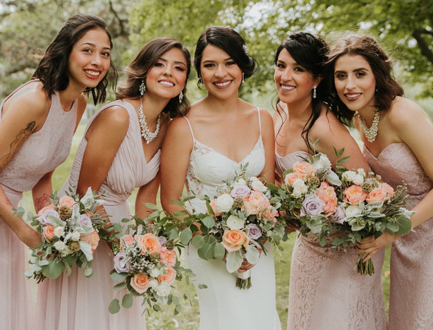 mariela and bridesmaids
