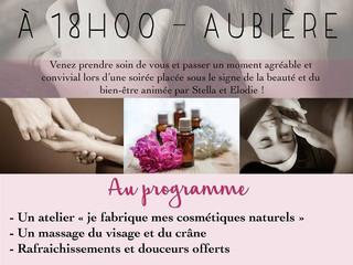 """Venez assister au prochain """"Atelier Bien-être de Nature&You et des massages d'Elo"""""""