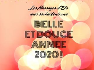 Belle et douce année 2020!