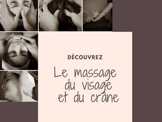 L'incontournable : Le massage du visage et du crâne!