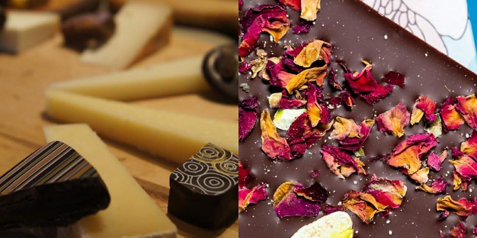Craft Chocolate Making + Cheese Tasting