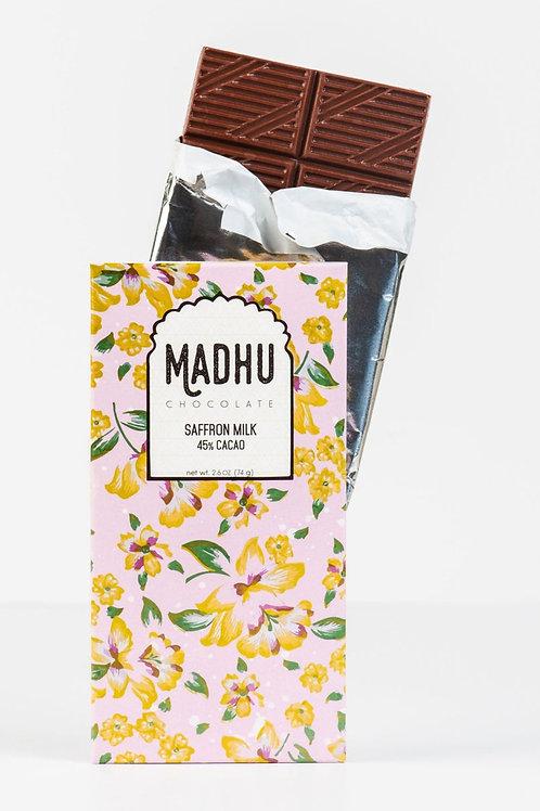 Saffron Milk - 45% Cacao