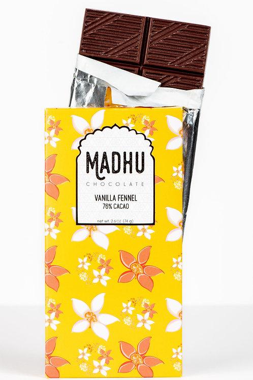 Vanilla Fennel - 76% Cacao