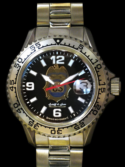 DEA Swiss Movement Dive Watch