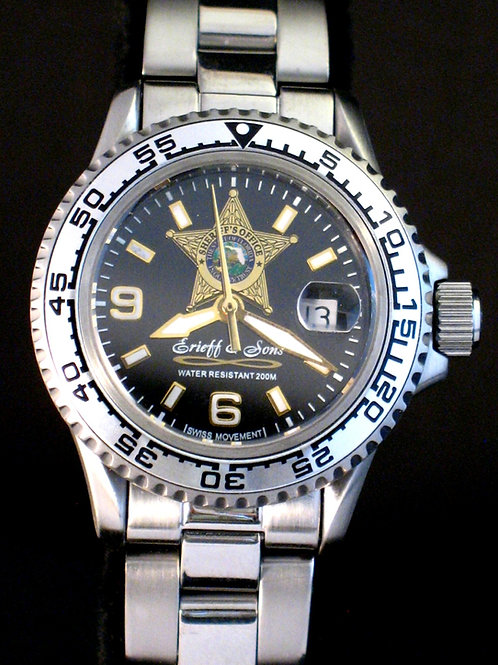 Florida Sheriff Office Lady Dive Watch 1