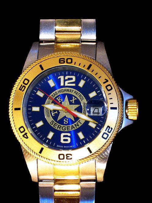 Texas DPS Sergeant Dive Watch