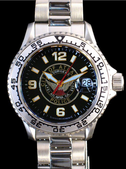 Atlanta Police Department Man's SS Dive Watch