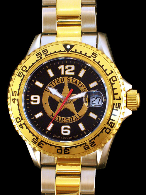 US Marshal 2 -Tone Dive Watch