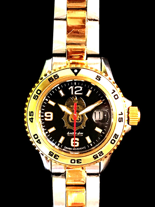 DEA Lady's 2-tone Swiss Movement Dive Watch