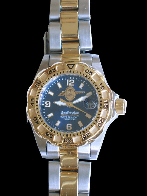 SC State Highway Patrol Lady's 2-Tone Dive Watch