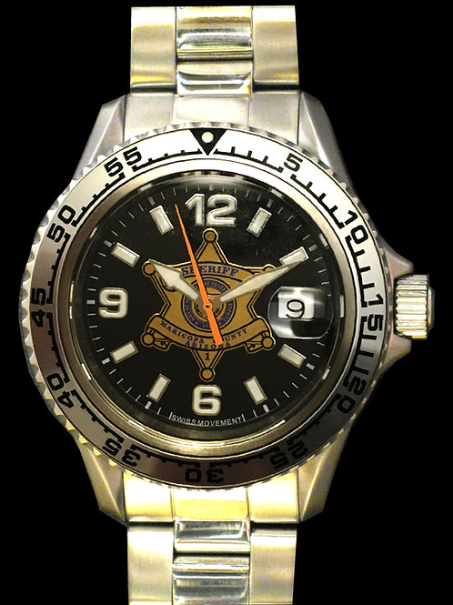 Maricopa County Sheriff's Office Swiss Movement Dive Watch