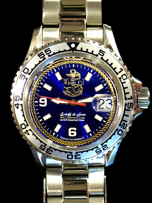 Chief Petty Officer Swiss Movement Dive Watch