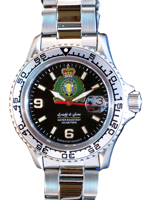 Royal Canadian Mounted Police Swiss MovementWatch