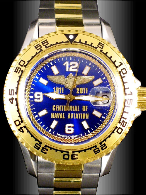 Centennial of Naval Aviation Swiss Movement Dive Watch