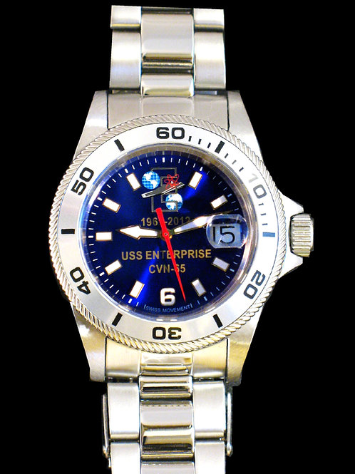 USS Enterprise Commemorative Dive Watch