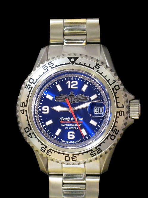 Surface Warfare Enlisted Swiss Movement Dive Watch