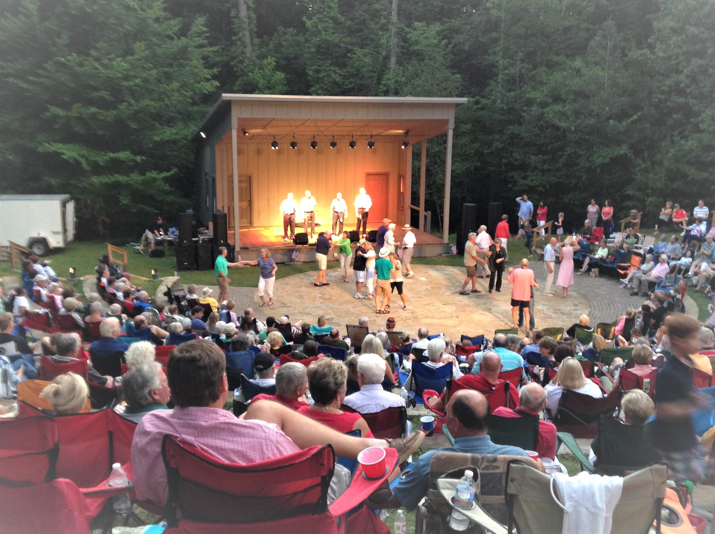 The Sock Hops amphitheatre