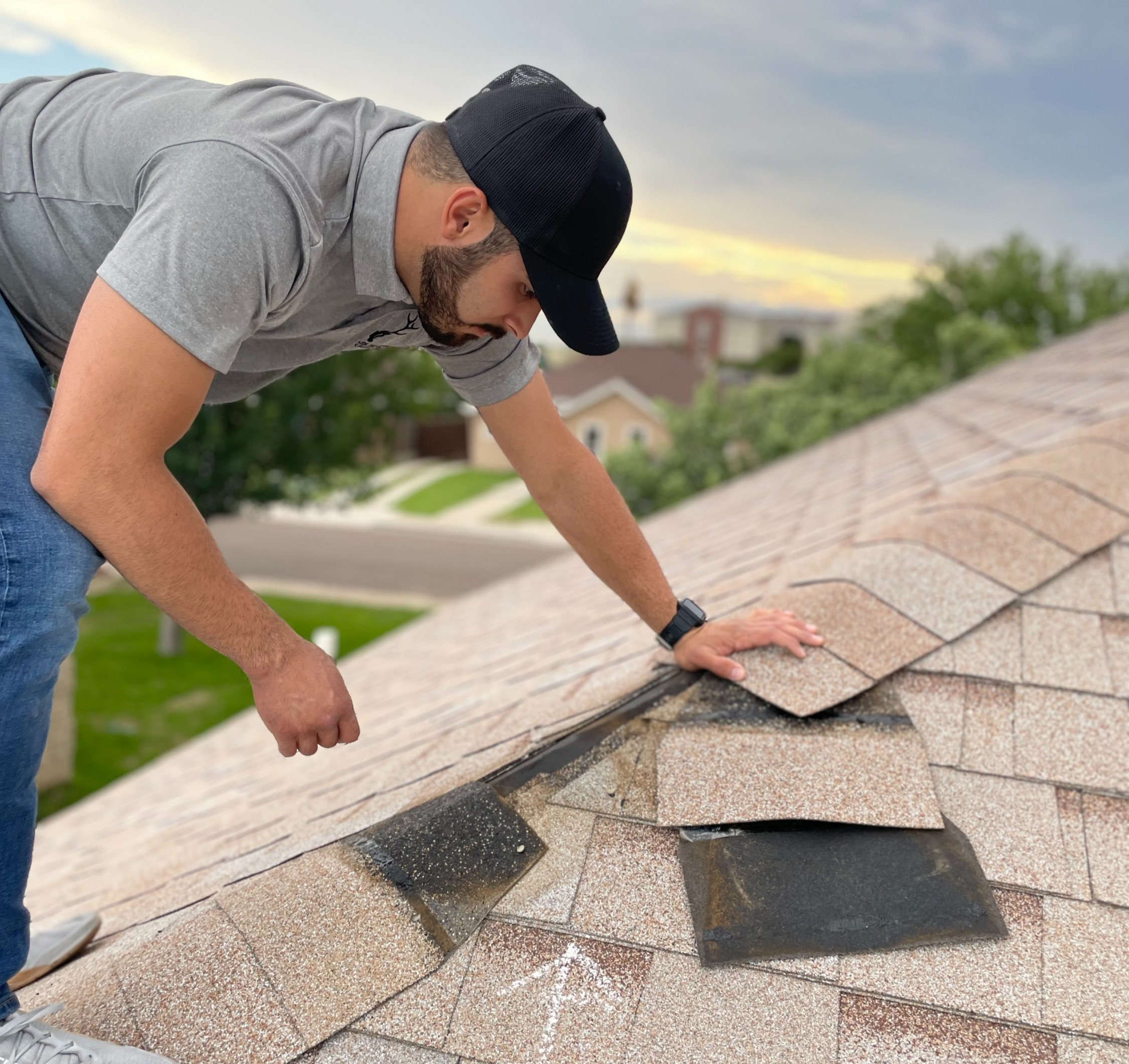 Roof Inspection - Houston