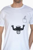 Beflockung T-Shirt Oatly