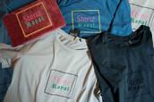 Beflockung T-Shirts Stenz Royal